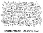 doodle icon | Shutterstock .eps vector #261041462