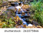 Little Natural Waterfalls In...