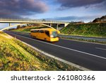 bus on the road | Shutterstock . vector #261080366
