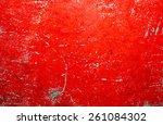 old vintage wood background... | Shutterstock . vector #261084302