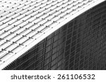 designed by rafael vinoly... | Shutterstock . vector #261106532