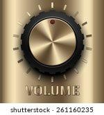 gold volume button