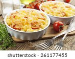 Pasta Baked With Tomato And...