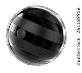 3d abstract techno sphere | Shutterstock . vector #261189926