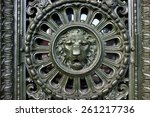 Cast Iron Door Gate Design Wit...