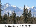 driving to rockies  canada | Shutterstock . vector #26122279