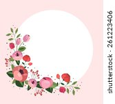 Vector Floral Corner With...