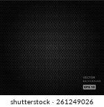 vector seamless illustration of ... | Shutterstock .eps vector #261249026