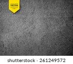 asphalt texture. vector... | Shutterstock .eps vector #261249572