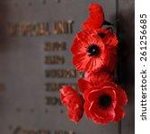 Red Poppy To Honour Veterans I...