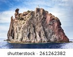 Aeolian island lighthouse ...