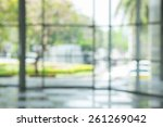 atmosphere around office  blur... | Shutterstock . vector #261269042