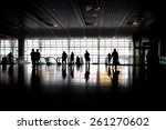 station hall  | Shutterstock . vector #261270602