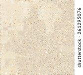 wet sand background | Shutterstock .eps vector #261295076