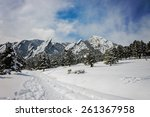 Winter View Of Flat Irons In...