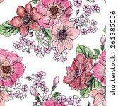 Floral Seamless Pattern. Flowe...