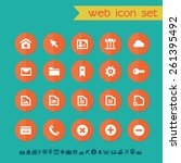 modern flat material web icons