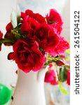 Stock photo red roses 261504122
