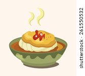 egg board theme elements | Shutterstock . vector #261550532