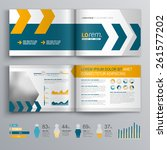 dynamic brochure template... | Shutterstock .eps vector #261577202
