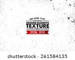 grunge texture   abstract stock ... | Shutterstock .eps vector #261584135