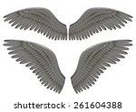 vector realistic illustration... | Shutterstock .eps vector #261604388