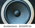speaker close up. element... | Shutterstock . vector #261609116