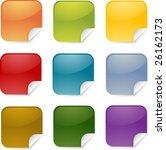 square blank multicolored... | Shutterstock . vector #26162173
