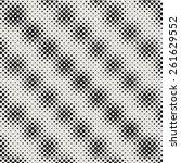 vector halftone dots. black...   Shutterstock .eps vector #261629552
