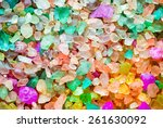 colored salt texture. element... | Shutterstock . vector #261630092