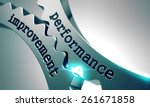 performance improvement on the... | Shutterstock . vector #261671858