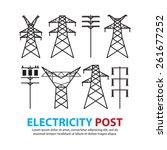 Electric Post High Voltage Set