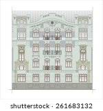 buildings and structures of the ... | Shutterstock . vector #261683132