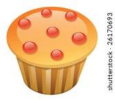 cupcake | Shutterstock .eps vector #26170693