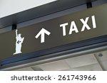 new york city staten island... | Shutterstock . vector #261743966