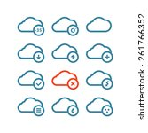 different forecast icons set...