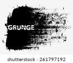 grunge urban background.texture ... | Shutterstock .eps vector #261797192