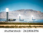 concentrated solar thermal... | Shutterstock . vector #261806396