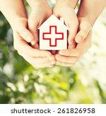 healthcare  medicine and... | Shutterstock . vector #261826958