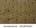 pattern weaving texture of photo | Shutterstock . vector #261843362