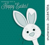Bright Easter Bunny Card In...