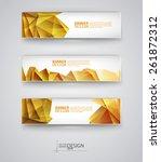 business design templates. set... | Shutterstock .eps vector #261872312