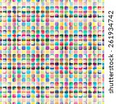 multicolor abstract bright... | Shutterstock .eps vector #261934742