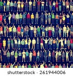people diversity success... | Shutterstock . vector #261944006