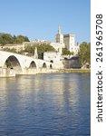 Le Pont St. Benezet And Palace...