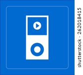 portable media player icon....