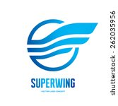 super wing   vector logo...