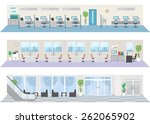 office image illustrations | Shutterstock .eps vector #262065902