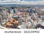 aerial view of sao paulo  brazil | Shutterstock . vector #262134902