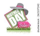 mothers day sale icon eps 10... | Shutterstock .eps vector #262137242